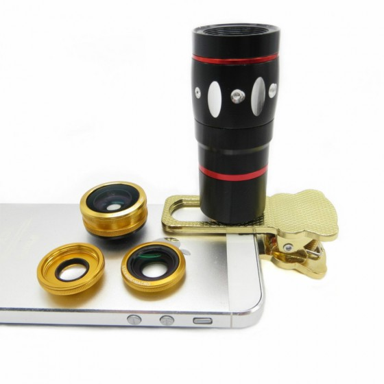 universal 4in1 clamp camera lens
