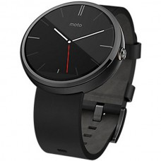 Motorola Moto 360 Leather Band Black