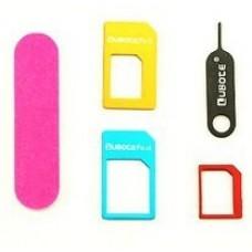Nano and Micro SIM Card Adapters