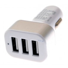 Triplet USB Car Charger