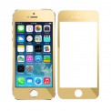 Apple Iphone 5S RG Screen Glass Gold